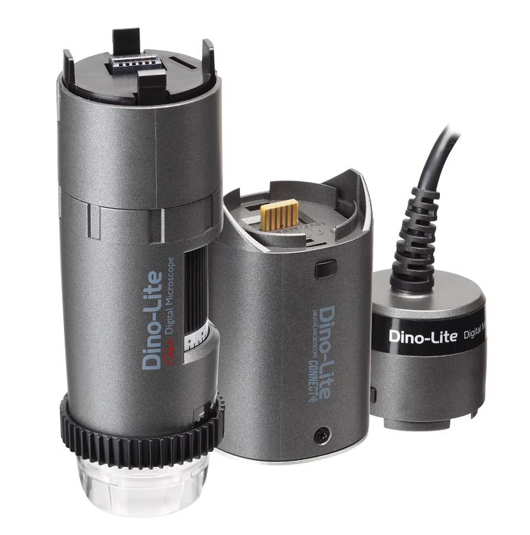 WF4515 trådløst mikroskop fra Dino-Lite med adapter og USB