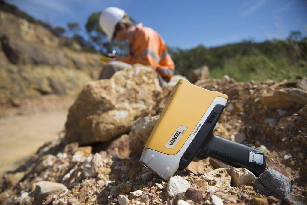 XRF Vanta mining Olympus