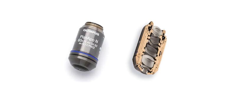 ojektiv linse til mikroskop